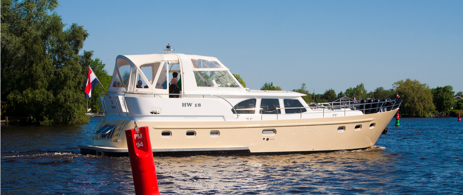 Luxe boot huren - Dutchess Executive 47 - GJS   HW Yachtcharter